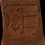Steinwappen am DGH von Gerhard Schmidt